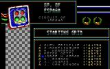 Grand Prix Master DOS Starting Greed