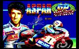 Grand Prix Master DOS Title Screen