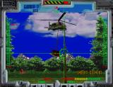 Behind... Enemy Lines Arcade A helicopter with crates