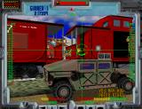 Behind... Enemy Lines Arcade Racing along trains and humvees