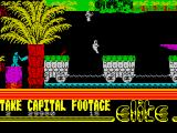 The Fall Guy ZX Spectrum Back to level 2 - ...SEE!! I'm the real fallguy! Get it! (hysterical laugh)