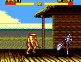 Street Fighter II': Special Champion Edition SEGA Master System Come on Blanka, attack her!