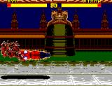 Street Fighter II: Champion Edition SEGA Master System Ryu electrified!