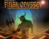 Peter Spinaze's Final Odyssey: Theseus verses the Minotaur Amiga Title screen