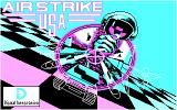 Airstrike USA DOS Title Screen (CGA)