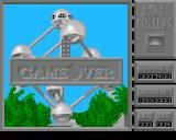 Bomb Busters Amiga Game over