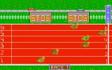 Frog-Race Atari ST But in the end frog on lane 2 took the lead