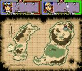 Ruin Arm SNES World map