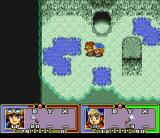 Ruin Arm SNES Dungeon with blue pools