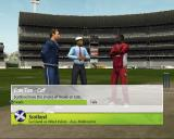 Brian Lara International Cricket 2007 PlayStation 2 Naturally a match begins with a coin toss. This follows a flyby view of the stadium and is nicely animated