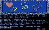 The Secret Diary of Adrian Mole Aged 13¾ Commodore 64 Beginning the game