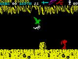 Underwurlde ZX Spectrum The Eagles also a form of transport. Unfortunately it is not controlled and love to drop you into the abyss.