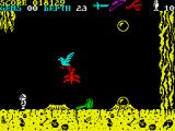 Underwurlde ZX Spectrum In the game you can find several types of weapons.