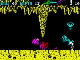 Underwurlde ZX Spectrum Bosses have a weakness to only one type of weapon, and are immune to others.