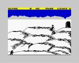 Hellfire ZX Spectrum Task 1: The slopes of Olympus, the dreadful Gorgon and the tricky boulders. (...Marry me!! I know'u love meee!!...)