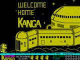 Kosmic Kanga ZX Spectrum Home, Sweet Home.