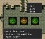 Sansara Naga 2 SNES Those weird things are called Tao. The yellow ones will save your game, the green ones will heal you