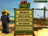 Ace of Spades Windows Main Menu.