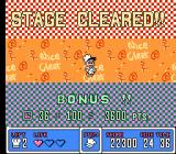 Panic Restaurant NES  Level cleared (Japanese version)