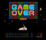 Panic Restaurant NES Game over (US and Euro version)