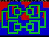 3D Painter ZX Spectrum Maze 2 - Advancing to the next maze.