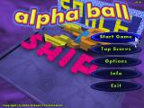 Alpha Ball Windows Main menu