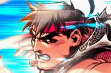 Super Street Fighter II: Turbo Revival Game Boy Advance Ryu's closeup - Intro