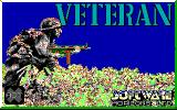 Veteran DOS Title Screen (EGA).