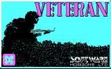 Veteran DOS Title Screen (CGA).