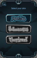 Muertitos Android Skin selection