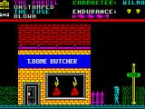 Everyone's A Wally (The Life of Wally) ZX Spectrum Meat Street.