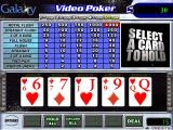 Galaxy Video Poker Windows The first hand has been dealt. The player selects cards to hold by clicking on them