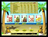 Tropical Poker Windows The first deal has been made and gives the player three of a kind<br>In this game the winning cards are held automatically