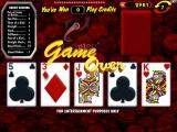 Raw Poker Windows Game Over!<br>This game ended after just seven rounds because the player ran out of credits