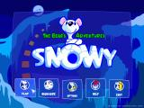 Snowy: The Bear's Adventures Windows Main Menu