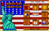 World Cup Atari ST The main in game meny