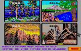 Travelgame Atari ST Now let's see what does Oslo look like?