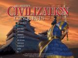 Sid Meier's Civilization III: Conquests Windows Main menu