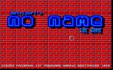 No Name Atari ST Title screen