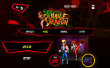 Double Dragon Trilogy Android <i>Double Dragon</i>: main menu