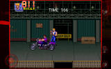 Double Dragon Trilogy Android <i>Double Dragon 3</i>: dodging a motorcycle.