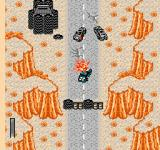Mad Max NES Ouch, my interceptor is being attacked, the road is blocked and I'm out of ammo.