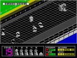 Highway Encounter ZX Spectrum Demo mode.