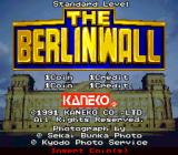 The Berlinwall Arcade Title screen