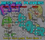 The Berlinwall Arcade Best 10 players