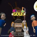 Mr. Golf PlayStation 2 The game's load screen