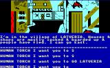 Questprobe: Featuring Human Torch and the Thing Amstrad CPC In the village of Latveria
