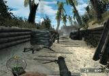 Call of Duty: World at War - Final Fronts PlayStation 2 Picked up enemy machine gun to test its usefulness