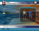 LMA Manager 2004 PlayStation 2 Starting a full season. This shows the team & their expectations<br>The player goes through several configuration screens to get here, the choices made are shown on screen