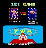 Mat Mania Arcade First opponent is the insanely worried - INSANE WORRIER (Japanese version)